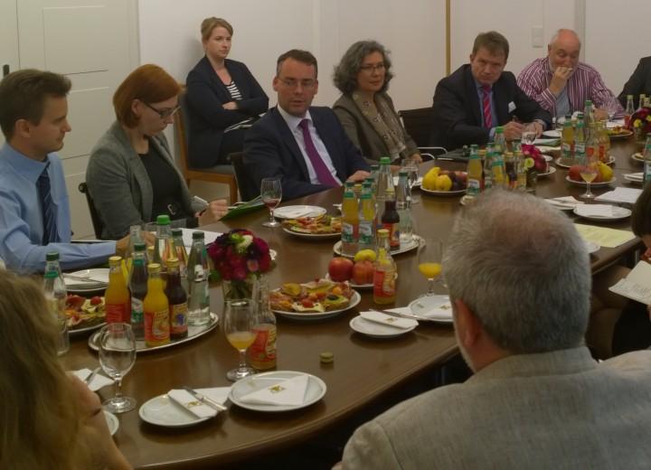 Im Gespräch mit baden-württembergischen EU-Minister